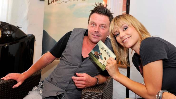 Ast und Jordi turtelten bei der Präsentation ihres ersten gemeinsamen Albums in Oberbuchsiten