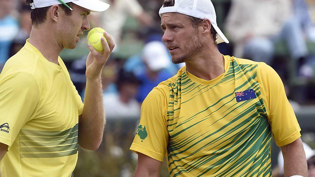 Doppel-Wildcard für Hewitt in Wimbledon