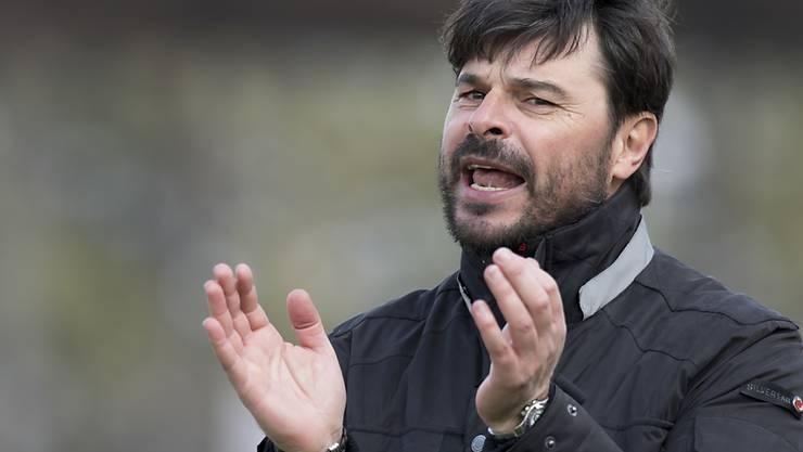 Wils Trainer Ciriaco Sforza kann auf einen recht guten Saisonstart zurückblicken