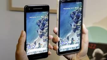 "Google-Präsentation ""Pixel 2"""
