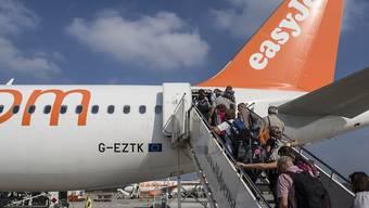 Reisende setzten vermehrt auf Billigflieger (Symbolbild).