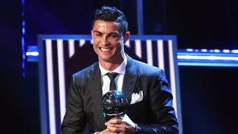 Ronaldo zum Weltfussballer gewählt (2017)