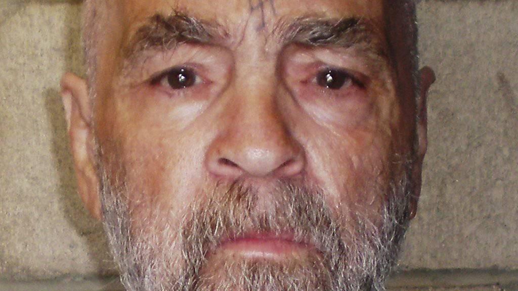 Foto aus dem Jahr 2009 von Charles Manson: Einer der berühmtesten Mörder der USA ist schwer krank.