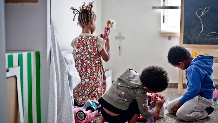Asylsuchende: Veltheim sucht Liegenschaftseigentümer, um Familien unterbringen zu können. (Symbolbild)