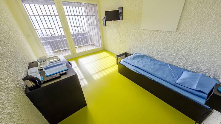 In der Strafanstalt Bellevue in Gorgier wurden sämtliche Zellen erneuert.