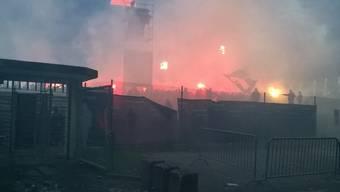 Rund ums Hochrisikospiel FC Aarau - FC Basel