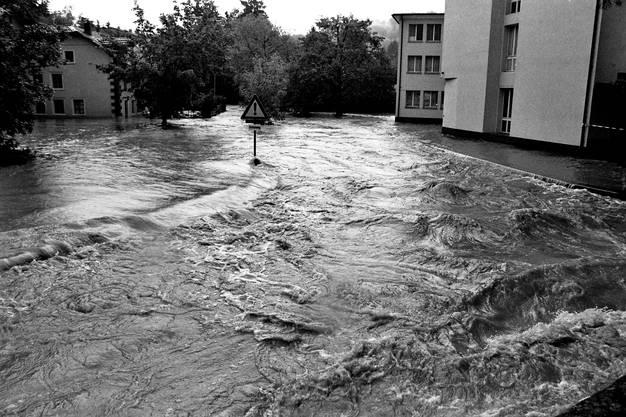 Am Morgen des 19.Mai 1994 kam die Sintflut