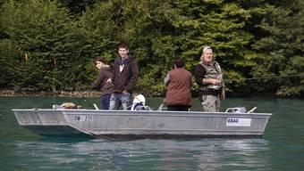 Nicht allen Jungfischern ging ein dicker Brocken an die Angel, aber ein tolles Erlebnis war der Event so oder so. Barbara Burtscher
