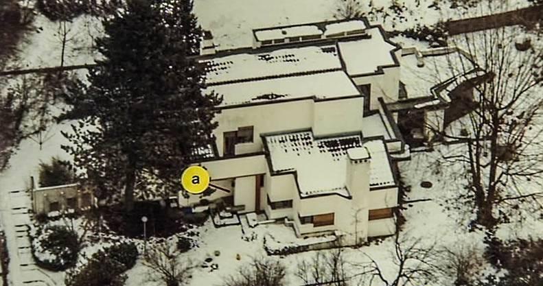 Der Tatort des Doppelmordes: Die Villa stand an der Rebbergstrasse 20, sie ist vor Jahren abgebrochen worden und hat einer Terrassensiedlung Platz gemacht. Kapo