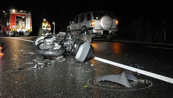Tödlicher Verkehrsunfall in Densbüren