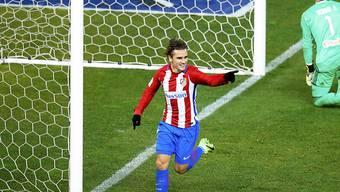 Antoine Griezmann erzielte das späte Siegtor für Atletico Madrid
