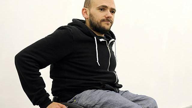 Ryan Gander 2008 in St. Gallen (Archiv)