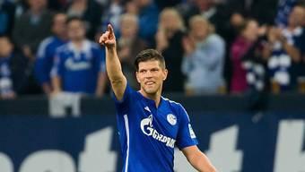 Einziger Torschütze auf Schalke: Klaas-Jan Huntelaar