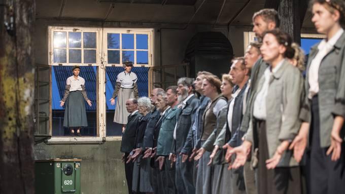 Hauptprobe zum Theaterstück 1918.ch in Olten