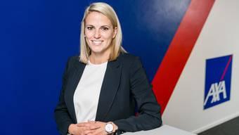 Neue Chefin bei AXA Baden