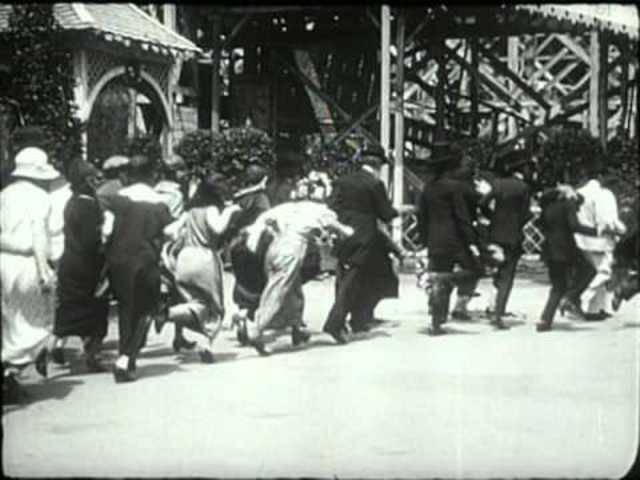 Dada-Kurzfilm «Entr'Acte»