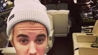 Santa hat Bieber einen fliegenden Schlitten gebracht (Instagram)
