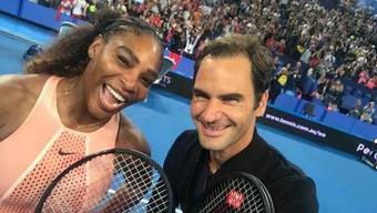 Serena Williams und Roger Federer