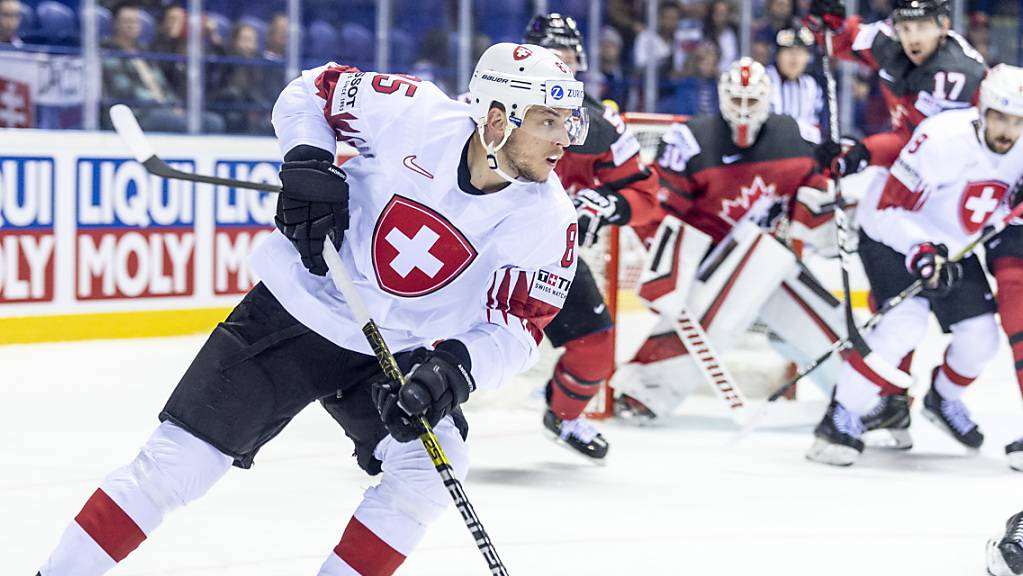 Sven Andrighetto verzeichnete in der KHL mit Awangard Omsk einen guten Saisonstart