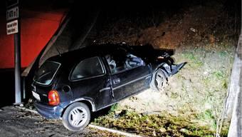 Autofahrer verfehlt die Einfahrt eines A5-Tunnels
