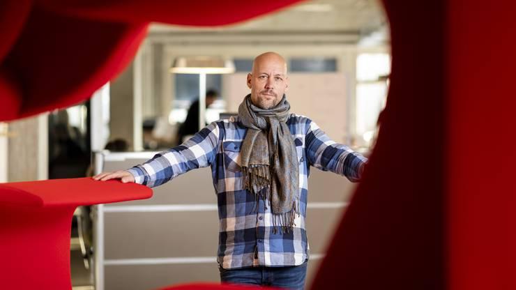 Der Weininger Fabian Hediger gründete das Worldwebforum 2007.