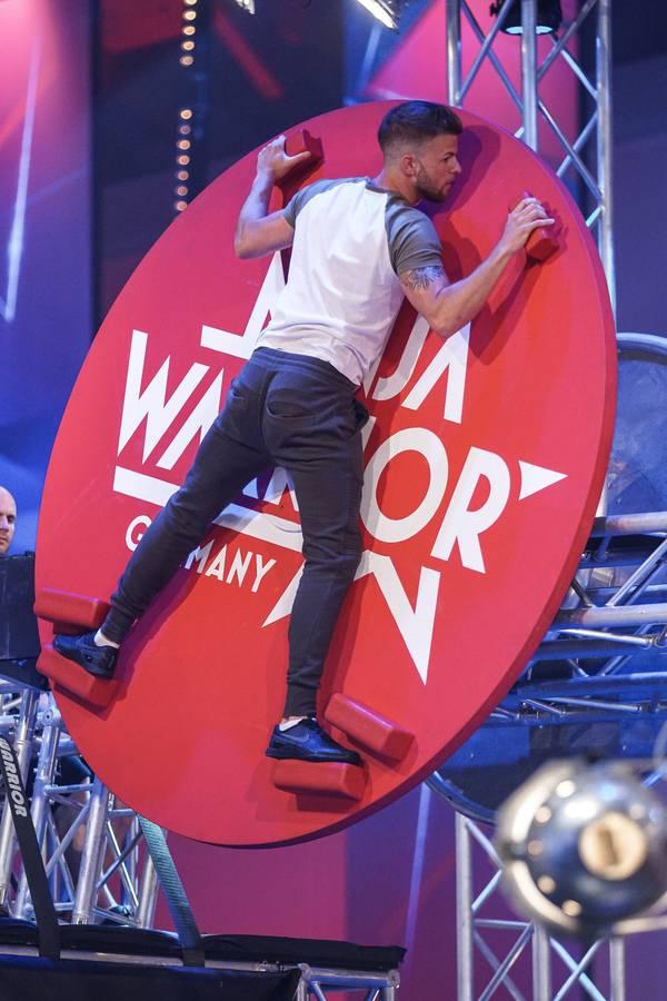 Noah Haefliger bei Ninja Warrior Germany (© Noah Häfliger)