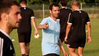 Trainer Massimo Saracino