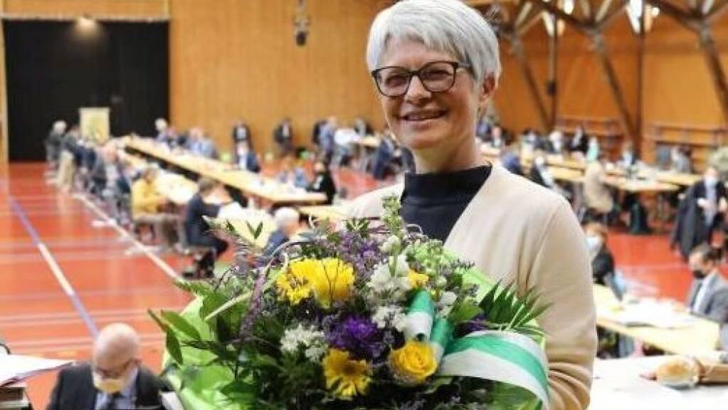 Brigitte Kaufmann (FDP, Uttwil) präsidiert für ein Jahr den Thurgauer Grossen Rat.