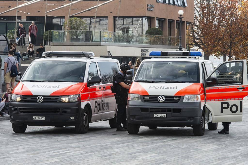 Grosseinsatz in Zürich (© BRK News)