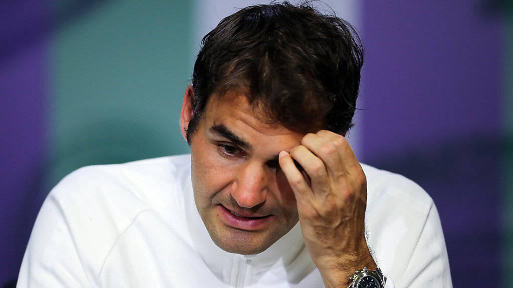 Roger Federer ist in der Weltrangliste aus den Top Ten gefallen