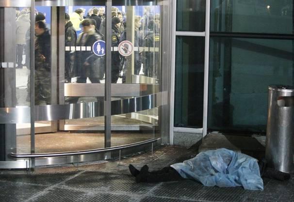 Blutbad im Moskauer Flughafen