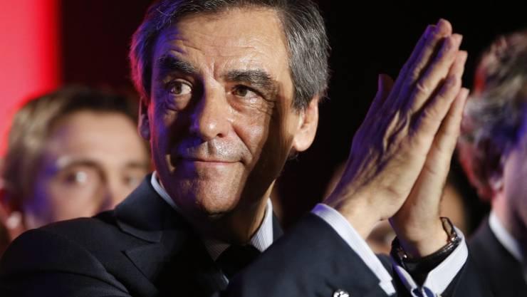 Kann erst einmal aufatmen: Seine Partei unterstützt Präsidentschaftskandidat François Fillon (in einer Aufnahme vom 2. März).