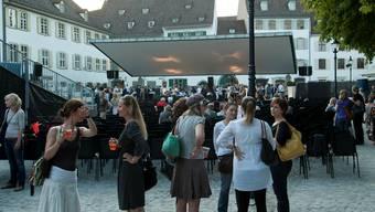 Openair-Kino am Münsterplatz (Archiv)