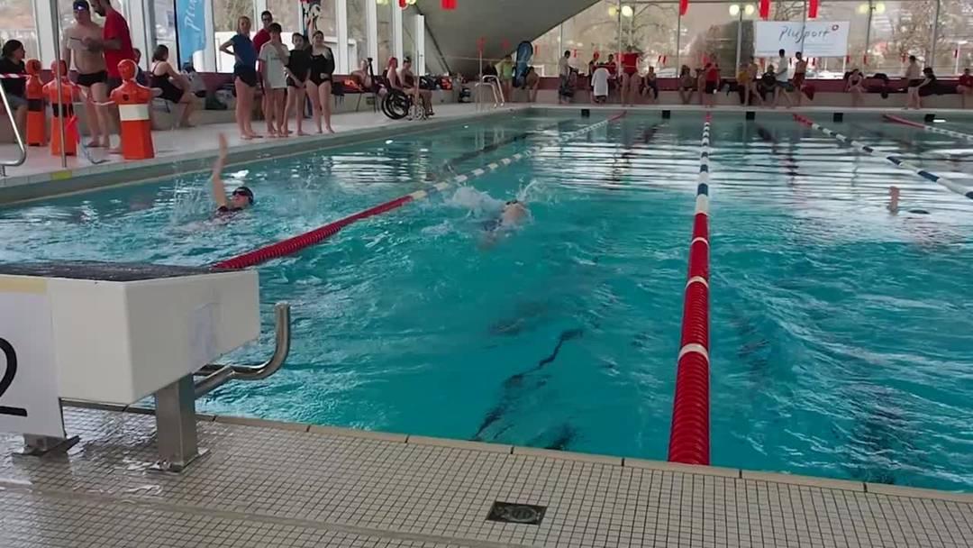 Schweizer Meisterschaft der Para-Schwimmer in Brugg