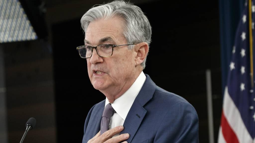 Fed-Chef: Zukunft der US-Wirtschaft «aussergewöhnlich ungewiss»