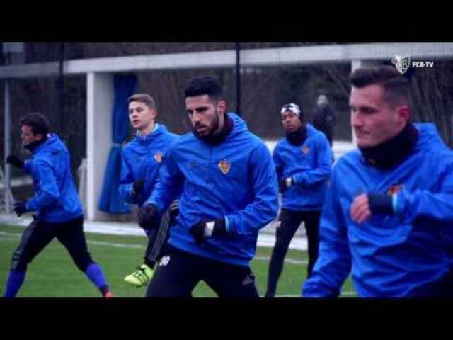 Der kalte Start der FCB-Winter-Vorbereitung ...