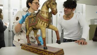 Flüchtlinge im Museum der Kulturen