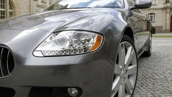 Teure Spritztour mit dem Maserati (Symbolbild)