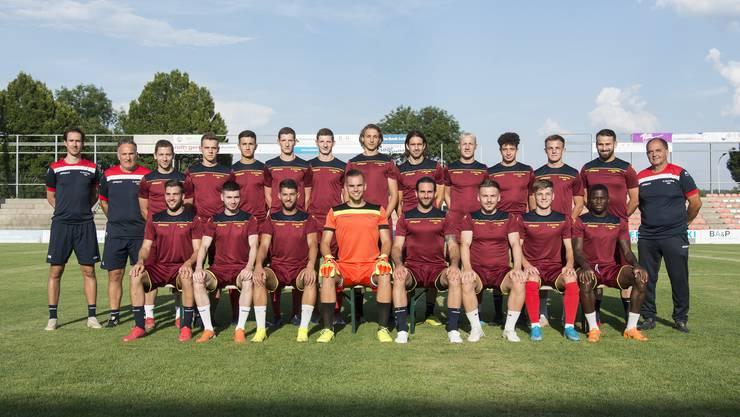 Jürg Widmer (rechts aussen) steigt in seine zweite Saison als Trainer des FC Solothurn.