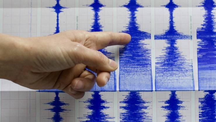 Das Seismologische Zentrum der Teheraner Universität gab die Stärke des Bebens mit 5,2 an. (Symbolbild)