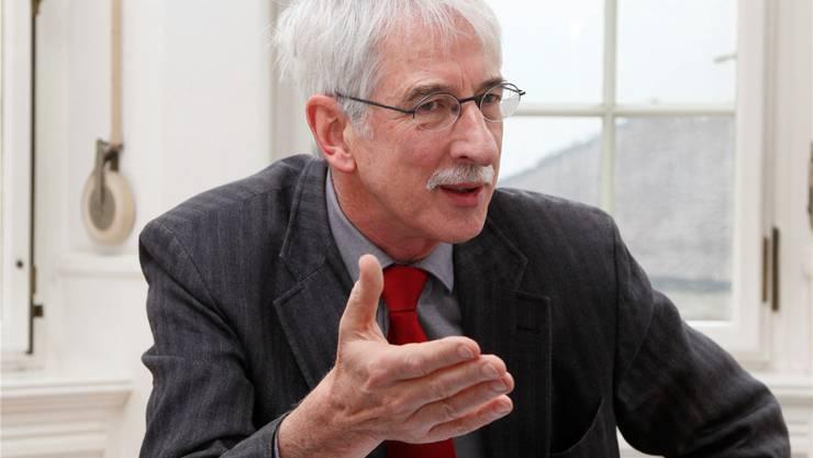 Klaus Fischer: «Die im Kindergarten erarbeiteten Kompetenzen sollen in der Unterstufe besser genutzt werden.» Hanspeter Bärtschi