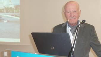 Erich Gysling sprach im Rahmen der Akademie der Generationen.