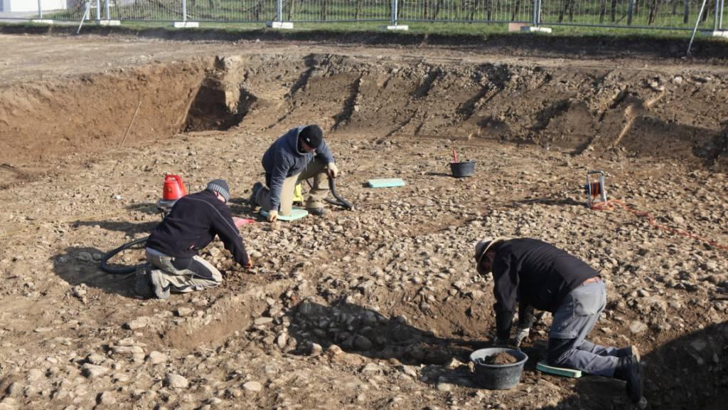 Abschnitt einer römischen Überlandstrasse im Aargau entdeckt