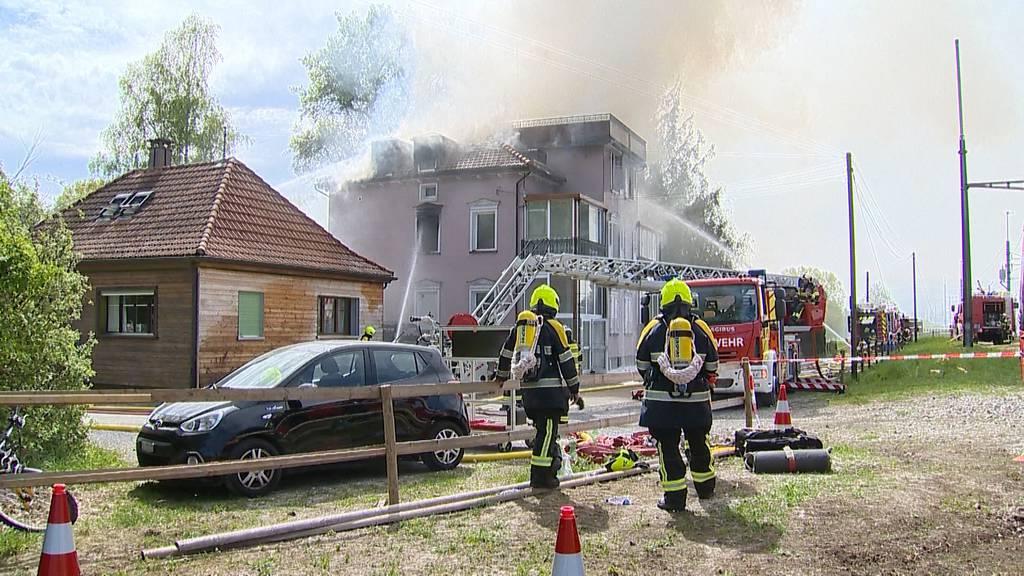 Salmsacher Brand fordert doch ein Todesopfer