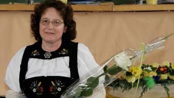 Die neue Präsidentin, Hanni Gloor.