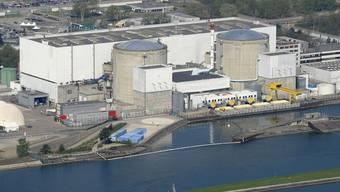 Pannenanfällig: Das Atomkraftwerk Fessenheim am Ufer des Rhein ist das älteste AKW Frankreichs.