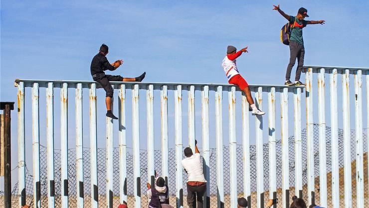 Migranten an der US-Südgrenze: Sie sollen es künftig noch schwerer haben.
