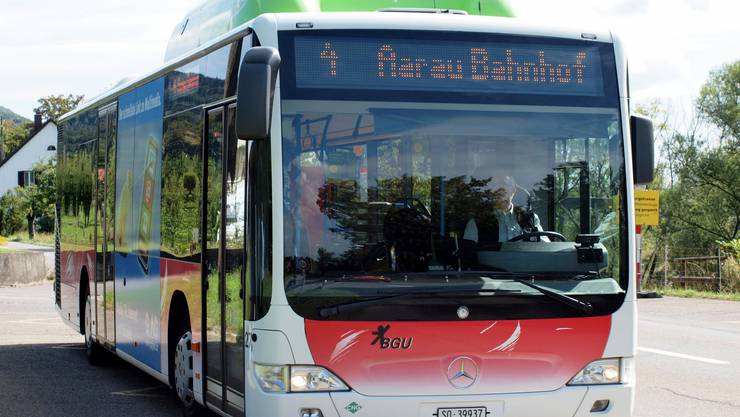 Aarau testete während zweier Wochen einen Bus aus Grenchen