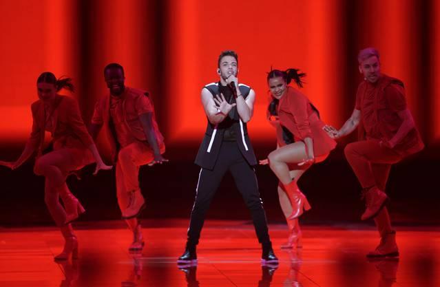 Luca Hänni konnte am Eurovision Song Contest überzeugen und zieht ins Finale ein.