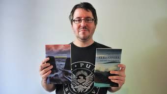 Roger Weishaupt plant noch weitere Teile seiner Buchreihe.